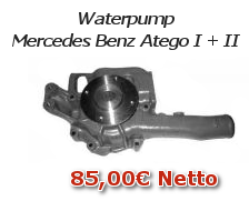 Waterpump Mercedes Benz Atego I + II